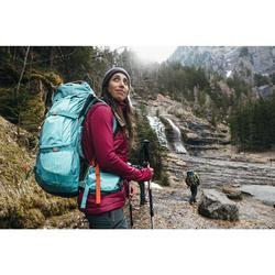 Sac à dos Trekking montagne 60 L EASYFIT femme Bleu