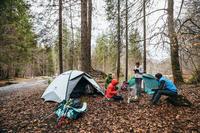 Trekking Tent Quickhiker 3-Person Fresh&Black