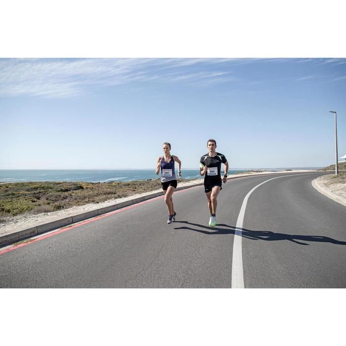CHAUSSURE DE RUNNING HOMME KIPRUN FAST GRIS JAUNE