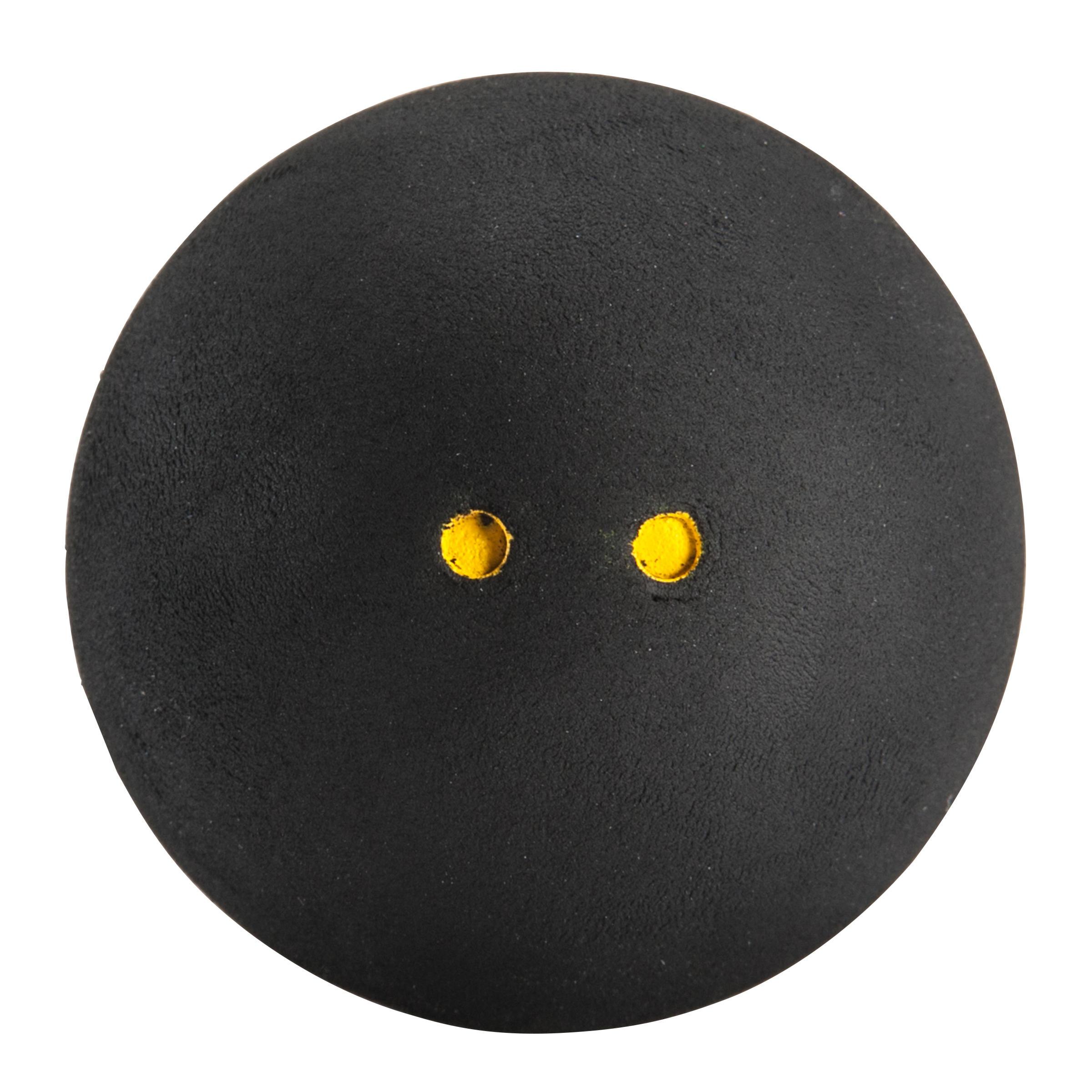 BALLE DE SQUASH SB 960 x 2 Double point jaune