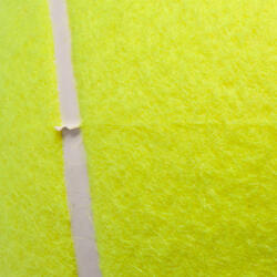 Medium bal voor minitennis geel - 152678