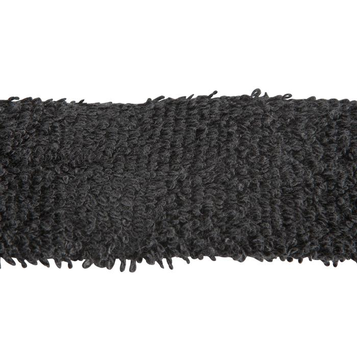 GRIP DE BÁDMINTON - TOWEL GRIP x 2 - NEGRO -