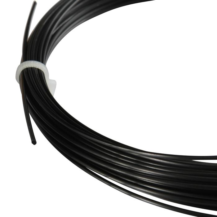 CORDAGE DE TENNIS MONOFILAMENT BLACK CODE 1.24mm NOIR - 152694