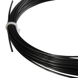 CORDAGE DE TENNIS MONOFILAMENT BLACK CODE 1.24mm NOIR
