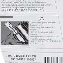 Marker tennisracket wit - 152697