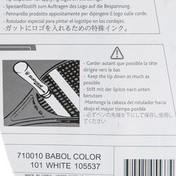Marker tennisracket wit