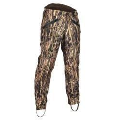 Pantalon chasse 500 chaud camouflage marais