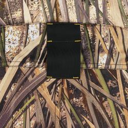 Warme waterdichte jagersbroek 500 moeras camouflage
