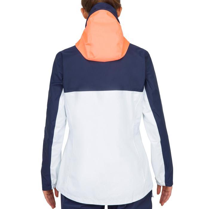 Veste imperméable de voile femme INSHORE 100 Femme Bleu blanc