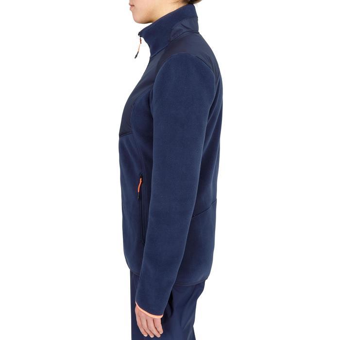 Warme damesfleece Inshore 900 voor zeilen marineblauw