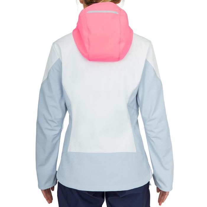 Regatta Softshell women's Race blue white pink