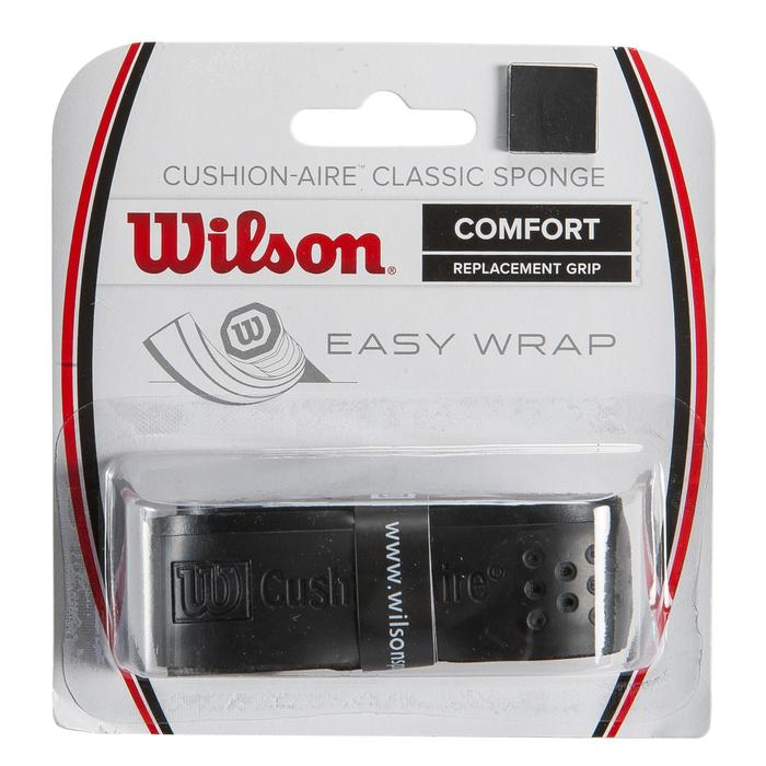 Grip voor tennisracket Cushion Air Sponge zwart