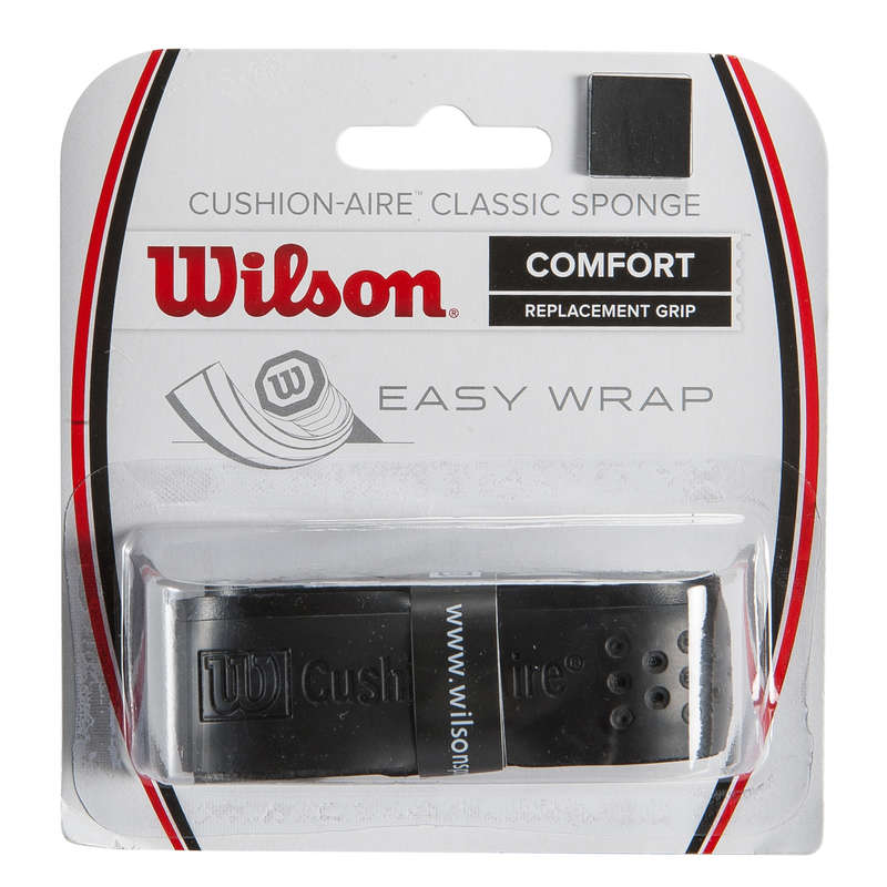 RACKETS ACCESSORIES Tennis - Cushion Air Sponge Grip WILSON - Tennis Accessories