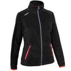 Fleece Regatta Boat Race Women's Jacket Black Pink