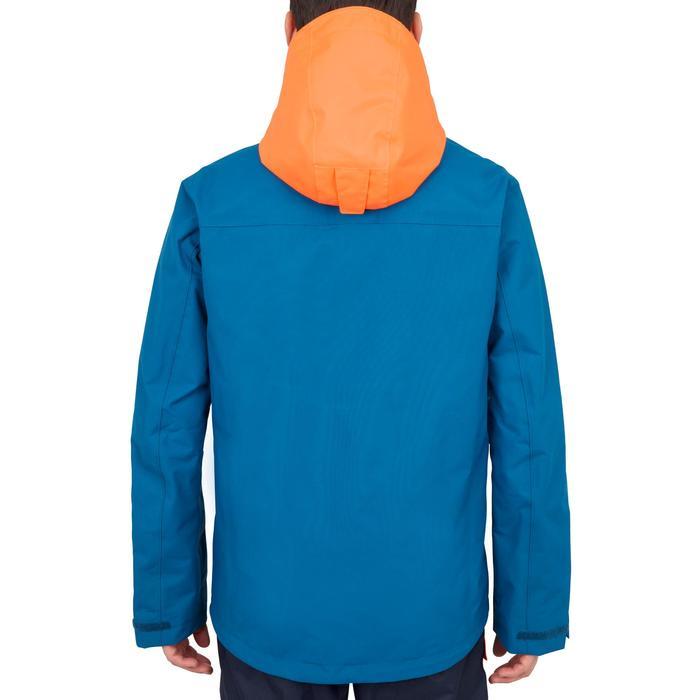 Zeiljas voor heren 100 blauw oranje