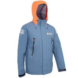 男士航海運動油布雨衣 500 - 深藍