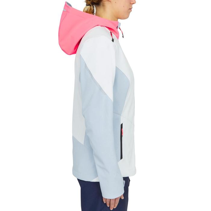 女款軟殼賽艇-藍色/白色/粉紅色