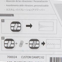 Vibrationsdämpfer Custom Damp Aero Tennisschläger schwarz/gelb