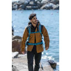 Trekkingjas 3-in-1 TRAVEL 100 heren camel