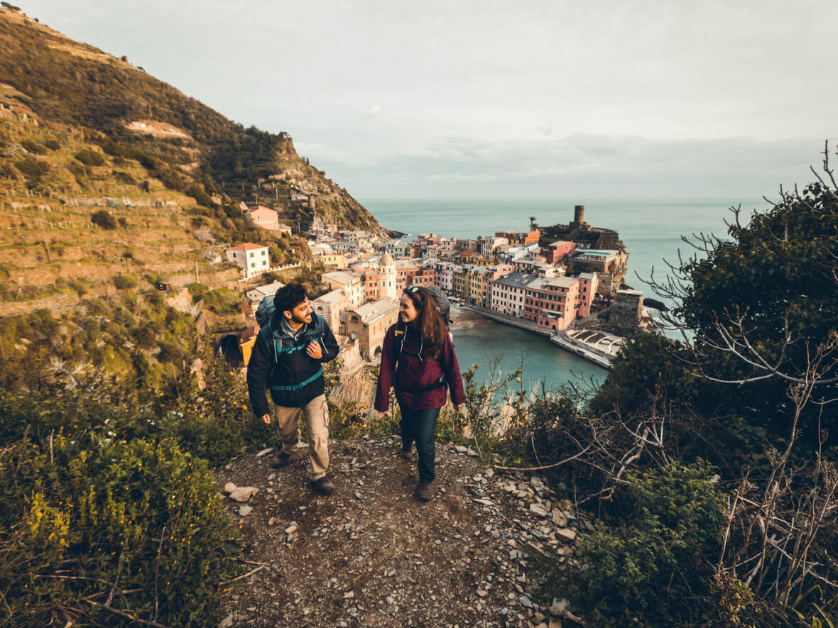 Travelling to Italy, Cinque Terre