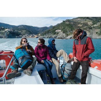3-in-1 damesjas voor backpacken Travel 100 donkerroze
