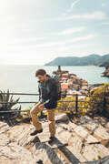CASACOS 3 EM 1 TREK VIAG HOMEM Caminhada na Natureza e Trekking - CASACO TREK HOMEM TRAVEL 100 FORCLAZ - Caminhada e Trekking Homem