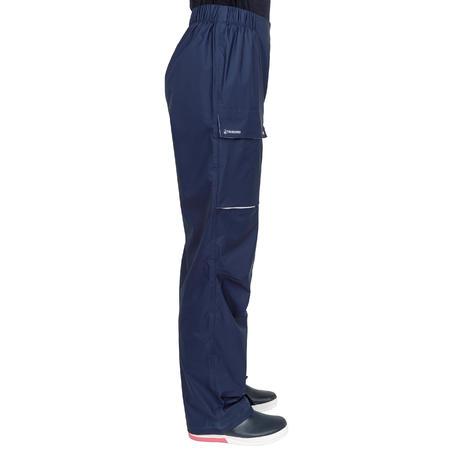 Surpantalon imperméable de voile femme Voile 100 marine