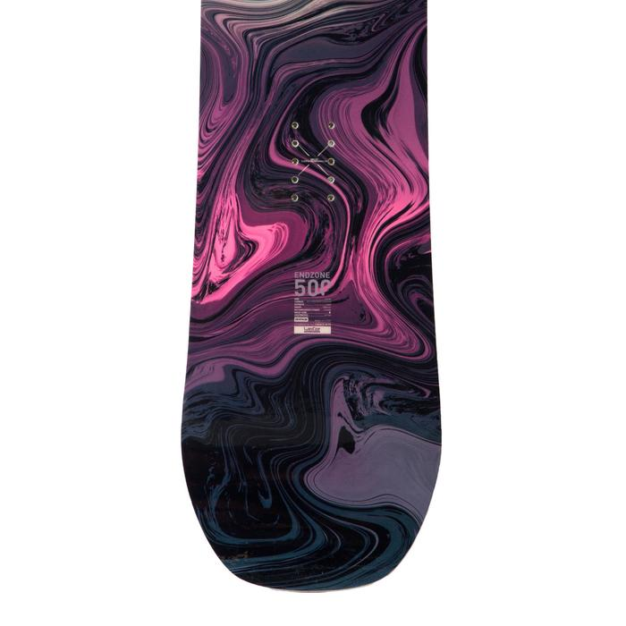 Freestyle snowboard, women's Endzone Jib, purple