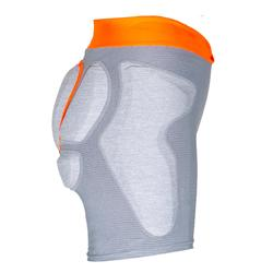 Women's skiing and snowboarding protection shorts DSH 500 - Grey