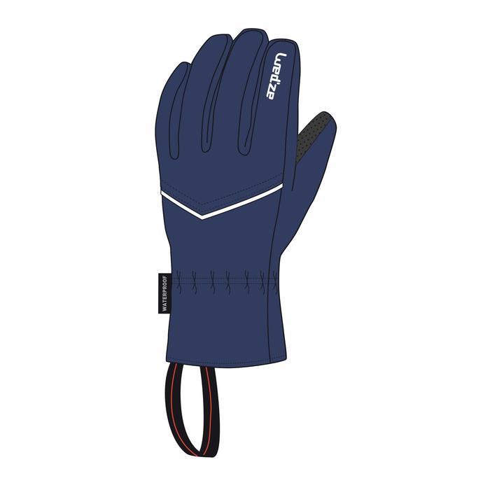 Skihandschoenen voor volwassenen 100 blauw