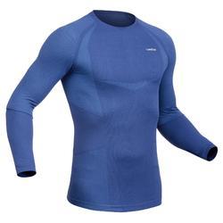 Skiondershirt voor heren 900 blauw