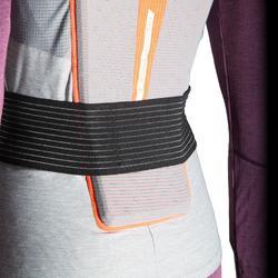 Rugbeschermer voor snowboarden en skiën voor dames DBCK 500 grijs