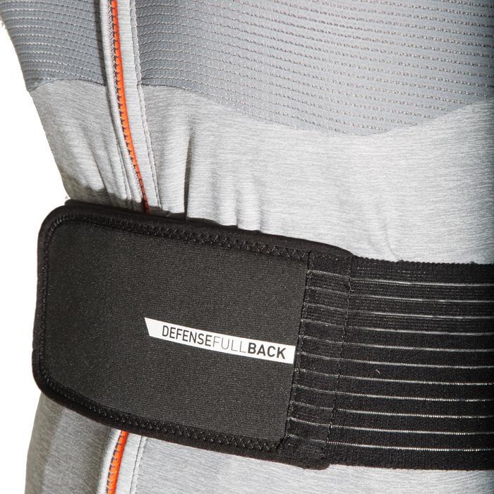 Rugbeschermer voor skiën en snowboarden dames DBCK 500 grijs