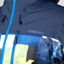 Heren ski-jas Quiksilver Yebow block blauw