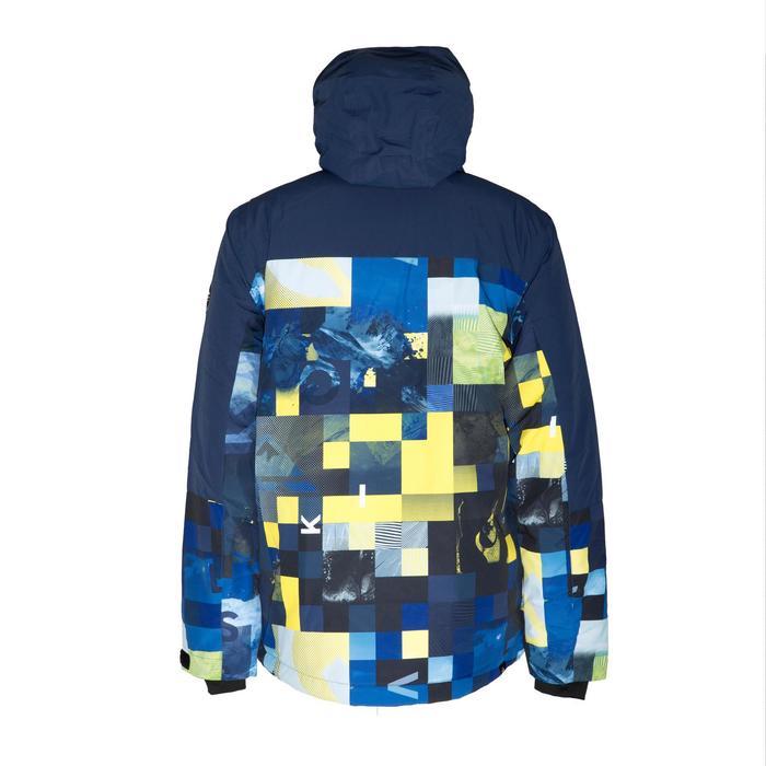 Veste de ski homme Quiksliver Yebow block bleu