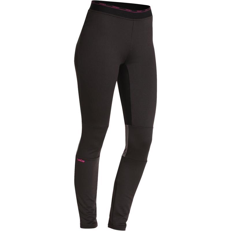 Sous-vêtement de Ski Femme Bas FreshWarm Noir