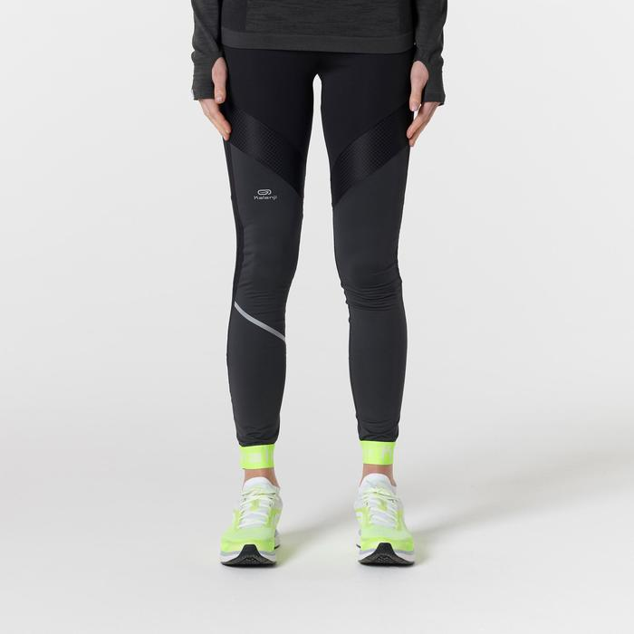 KIPRUN WOMEN'S RUNNING TIGHTS BLACK