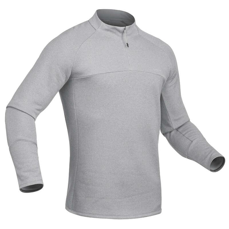 MEN SKI BASELAYER & PULL Ski Wear - M skiing 2nd layer 500 - Grey WEDZE - Ski Wear