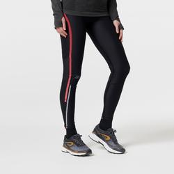COLLANT RUNNING FEMME KIPRUN COMPRESS NOIR ROSE