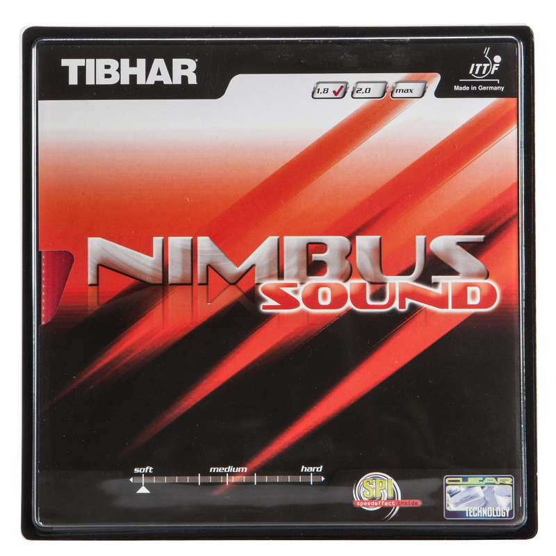 ACADEMIC BLADES & RUBBERS Table Tennis - Tibhar Nimbus sound Table Tennis Rubber TIBHAR - Table Tennis Accessories