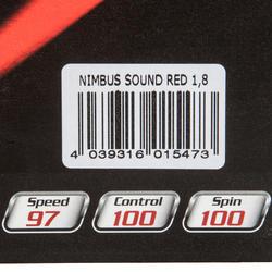 Rubber voor tafeltennisbatje Tibhar Nimbus Sound - 152850