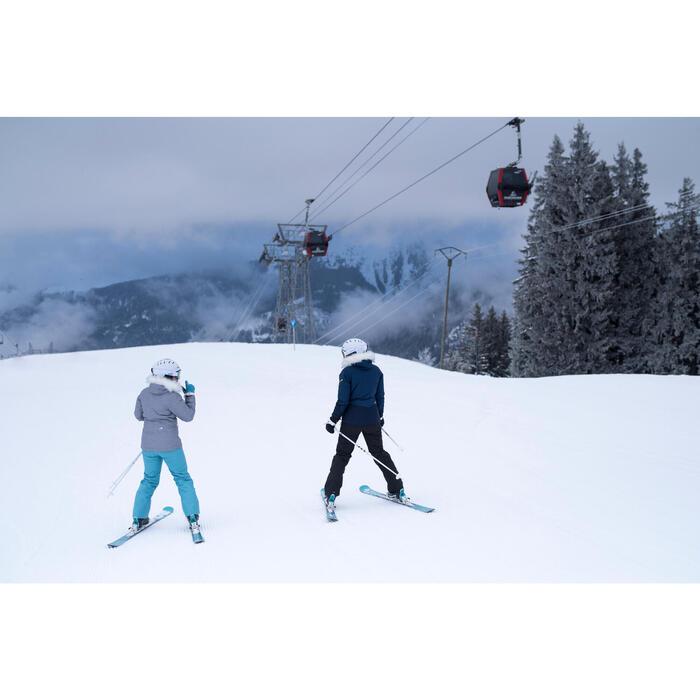 Dames skibroek voor pisteskiën SKI-P PA 150 zwart