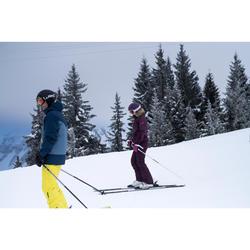 Skihose Piste Ski-P PA 150 Damen violett