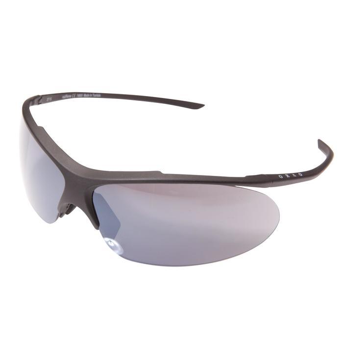 Zonnebril fietsen en hardlopen volwassenen Runyon zwart categorie 3