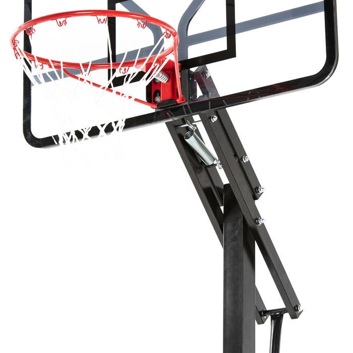 Basketbalpaal kinderen/volwassenen B700 Pro 2,40-3,05 m. 7 hoogtes.