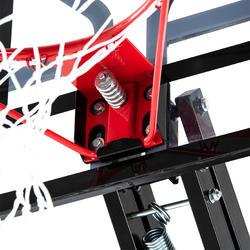 B700 Pro Kids'/Adult Basketball Basket 2.4m to 3.05m. 7 playing heights.
