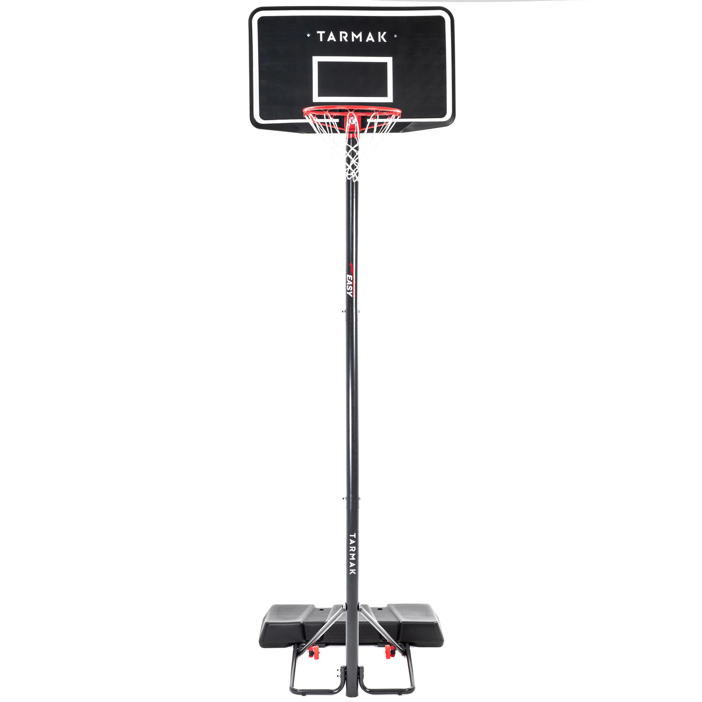 Canasta Baloncesto niño/adulto B100 Easy. Ajustable sin herramientas 2,20-3,05 m