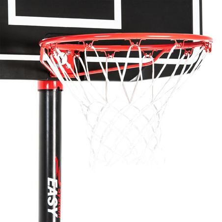 B100 Easy 2.4 m to 3.05 m Tool-Free Adjustment Basketball Basket - Kids'/Adult.