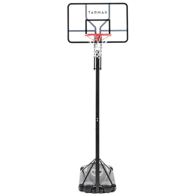 Panier de basket enfant/adulte B700 Pro. 2,40 m à 3,05 m. 7 hauteurs de jeu.
