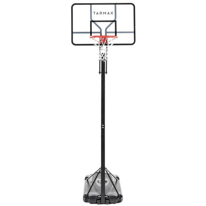 Panier de basket enfant/adulte B700 Pro. 2,40m à 3,05m. 7 hauteurs de jeu.